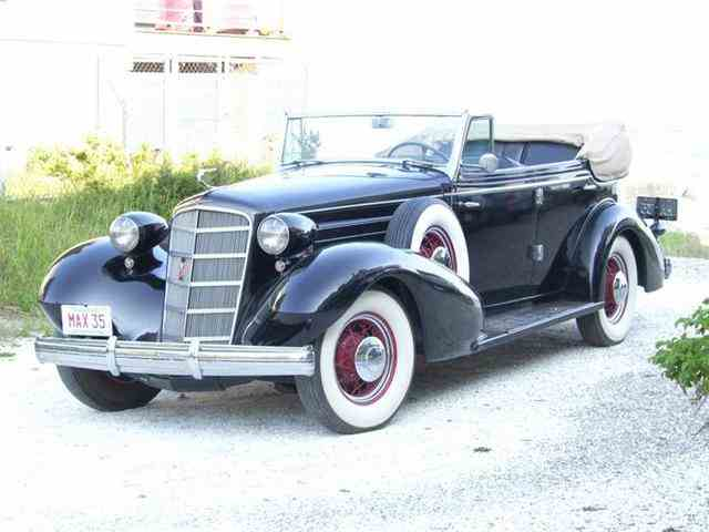 Picture of 1935 Cadillac 355E located in Hanover Massachusetts - $114,900.00 Offered by  - LRXH