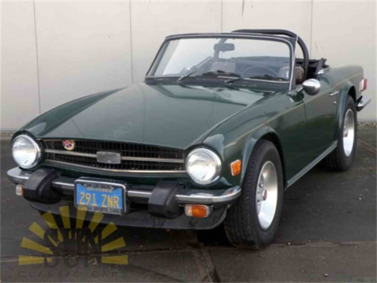 Large Picture of '76 TR6 - LS1A