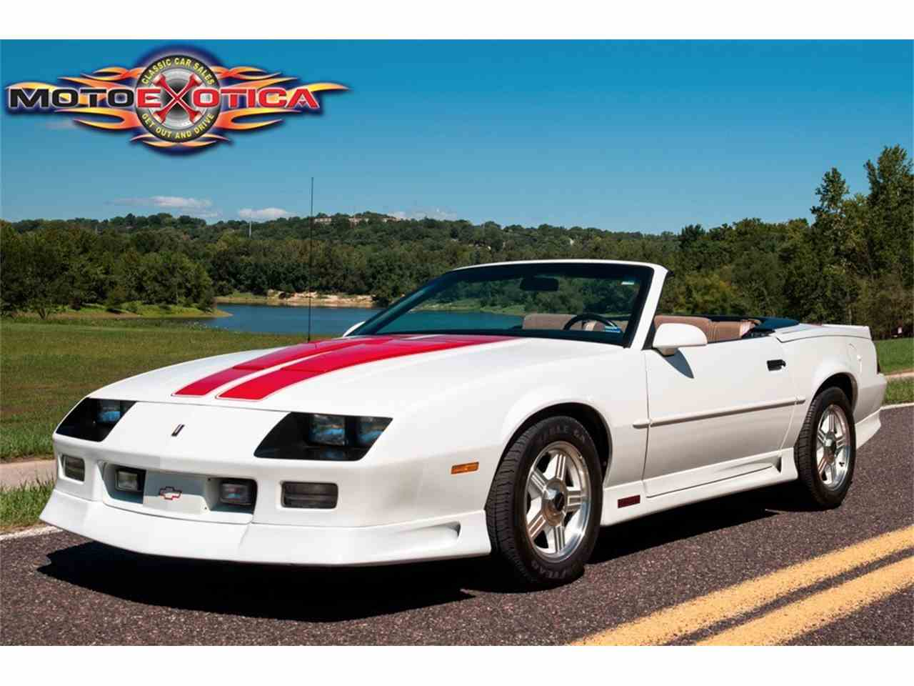 Large Picture of '92 Camaro Z28 - LS3X
