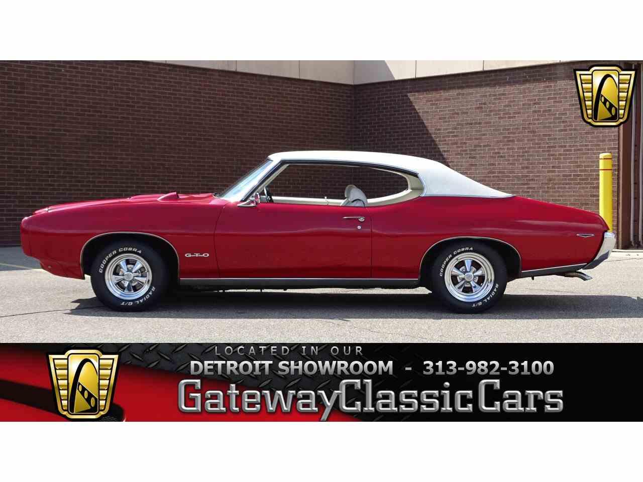 1969 Pontiac GTO for Sale   ClassicCars.com   CC-1016257