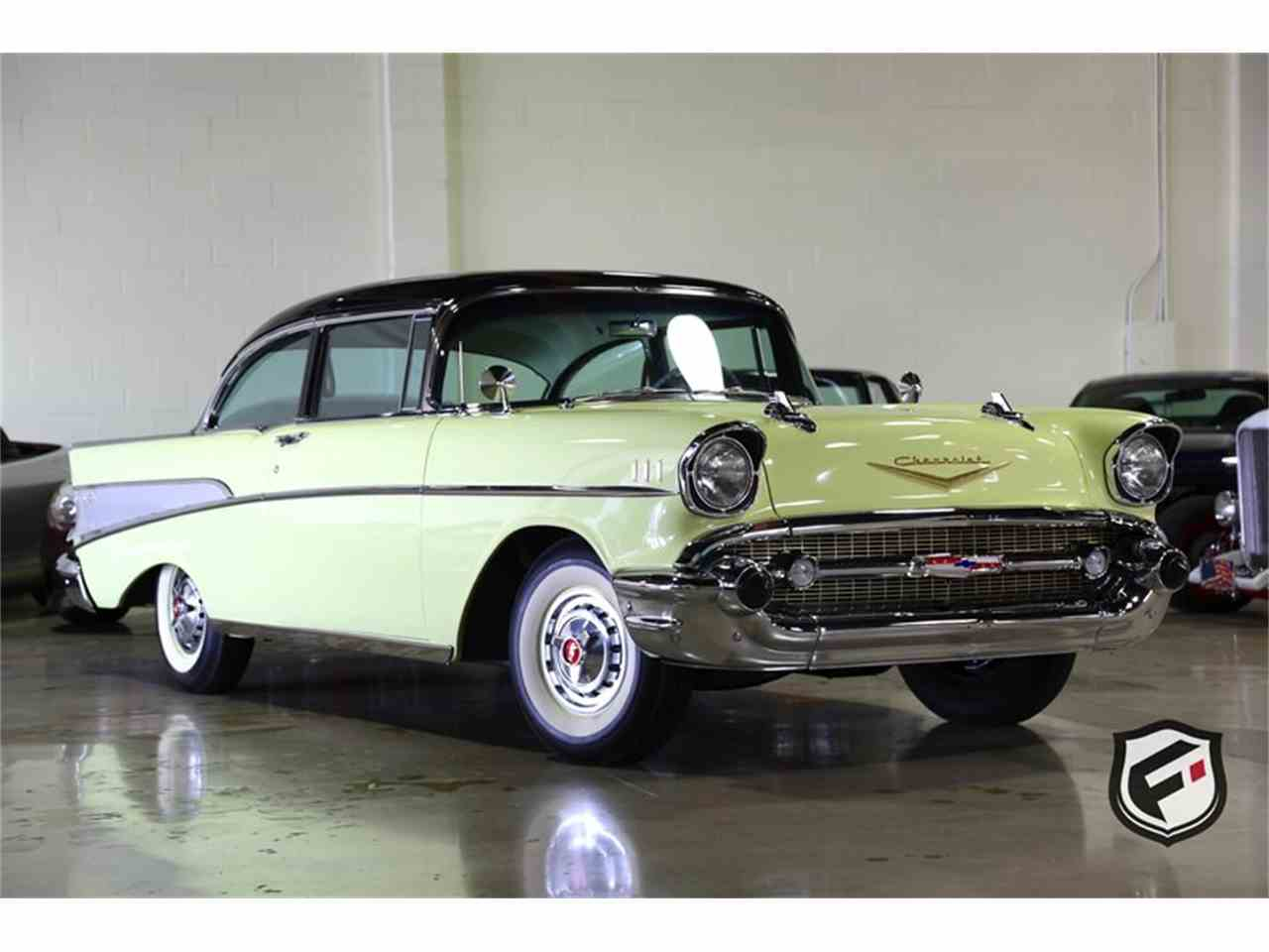 Large Picture of Classic 1957 Bel Air located in California - $39,900.00 Offered by Fusion Luxury Motors - LS5O