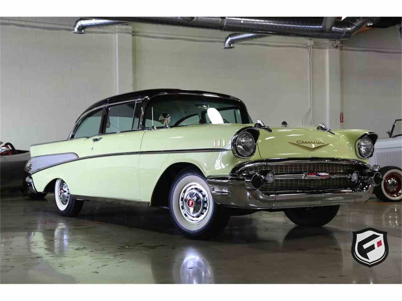Large Picture of Classic 1957 Chevrolet Bel Air located in Chatsworth California Offered by Fusion Luxury Motors - LS5O