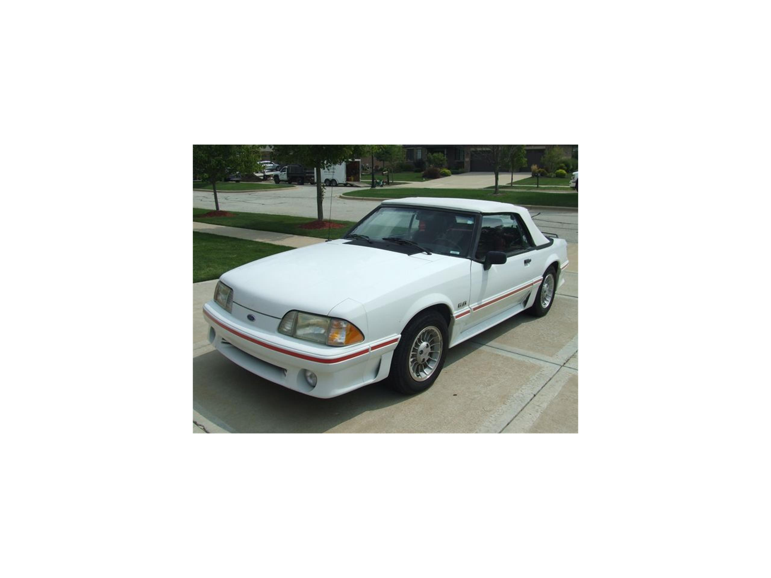 Large Picture of '89 Mustang - LS7G