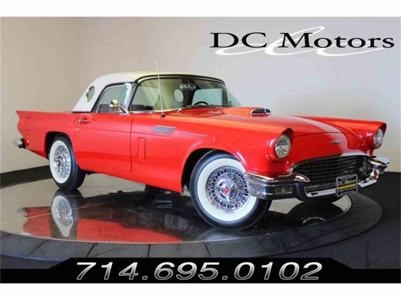 Large Picture of 1957 Thunderbird located in Anaheim California Offered by DC Motors - LS7N