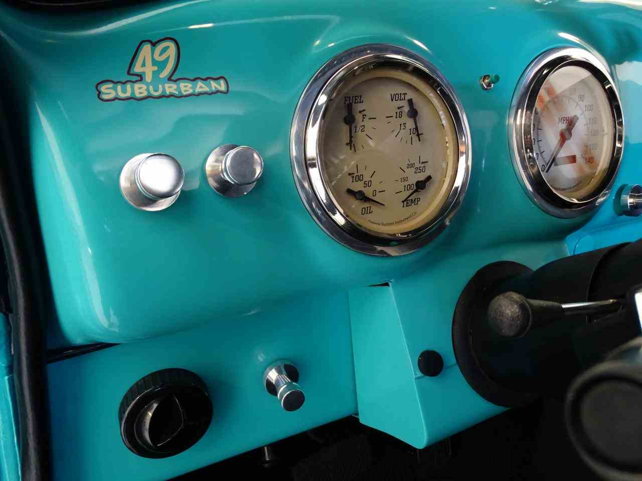 Large Picture of Classic 1949 Suburban - $48,595.00 Offered by Gateway Classic Cars - St. Louis - LS7T