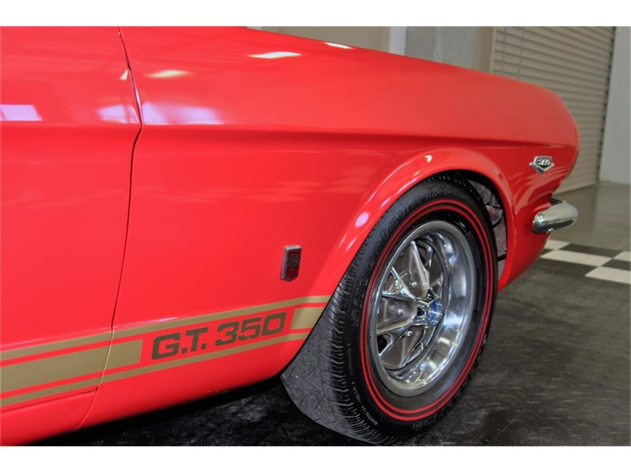 Large Picture of '66 Mustang - LS88