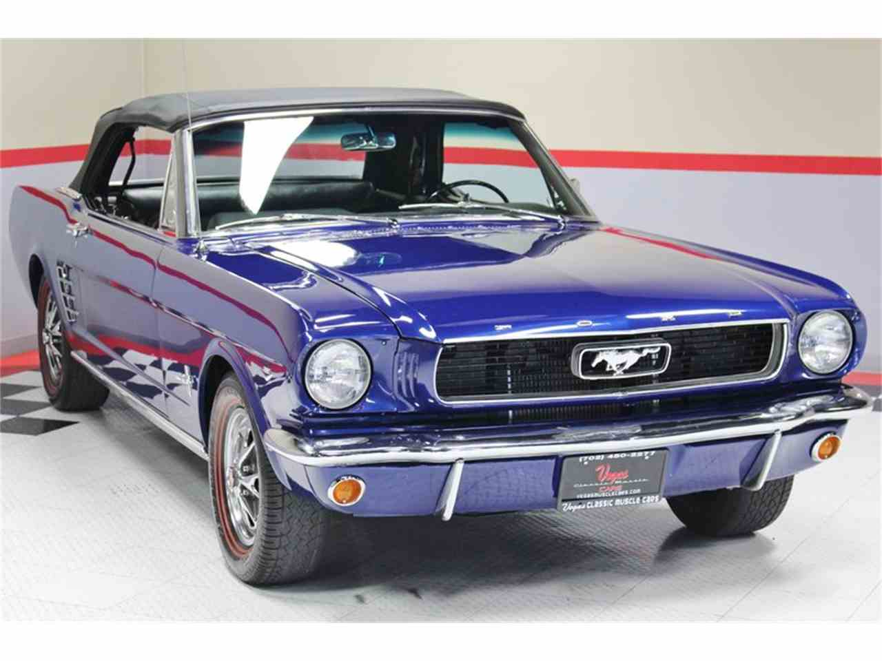 Large Picture of '66 Mustang - LS8N