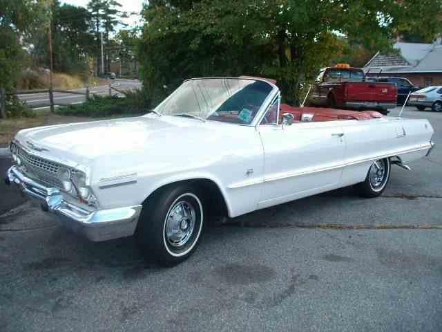 Picture of 1963 Chevrolet Impala SS located in Westford Massachusetts - $89,000.00 Offered by B & S Enterprises - LSAK