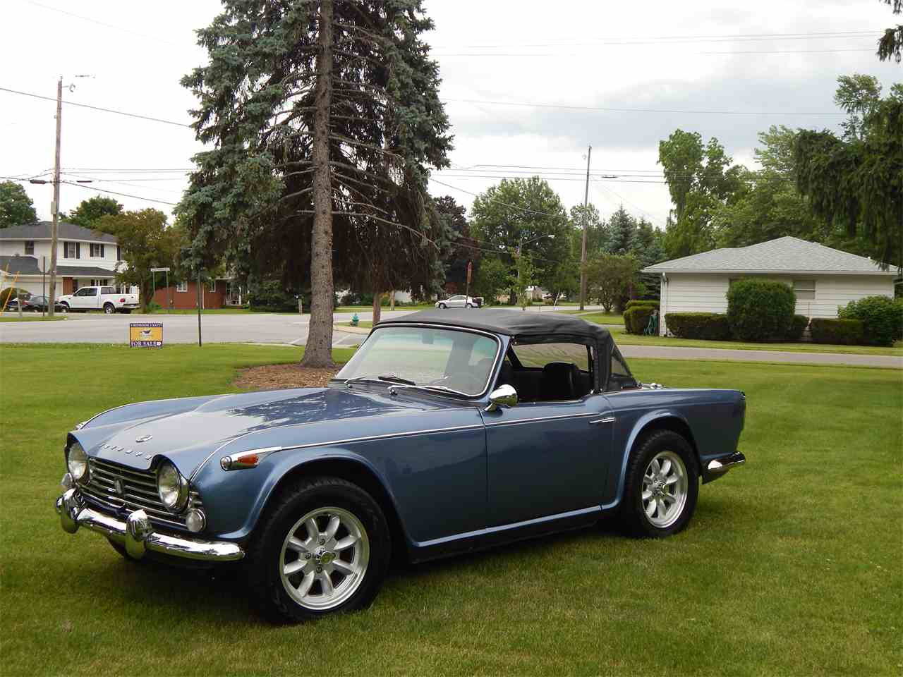 Large Picture of '66 TR4 located in Merritt Island Florida Offered by a Private Seller - LSBT