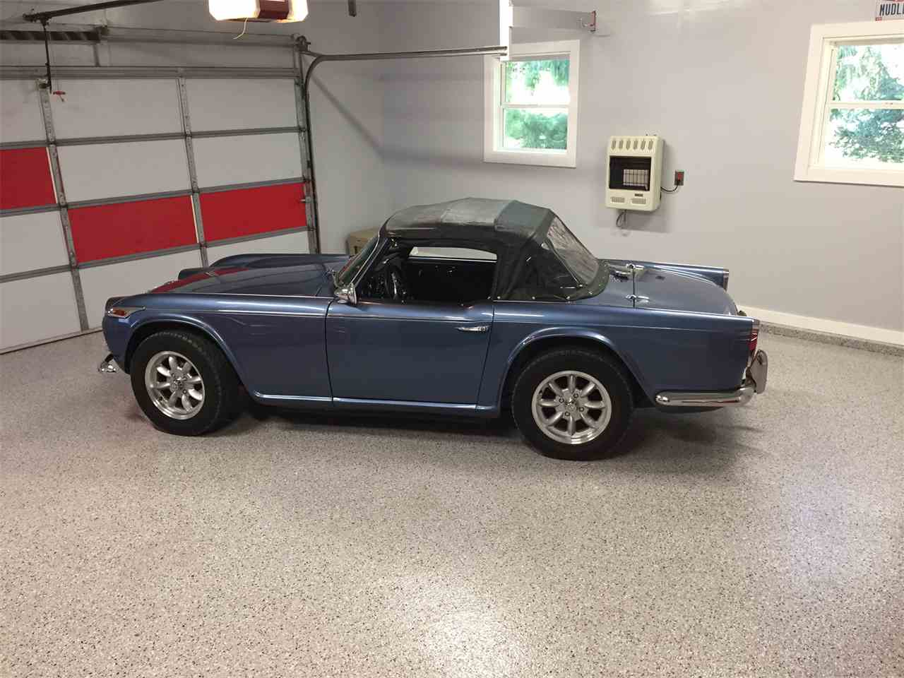 Large Picture of '66 TR4 - LSBT