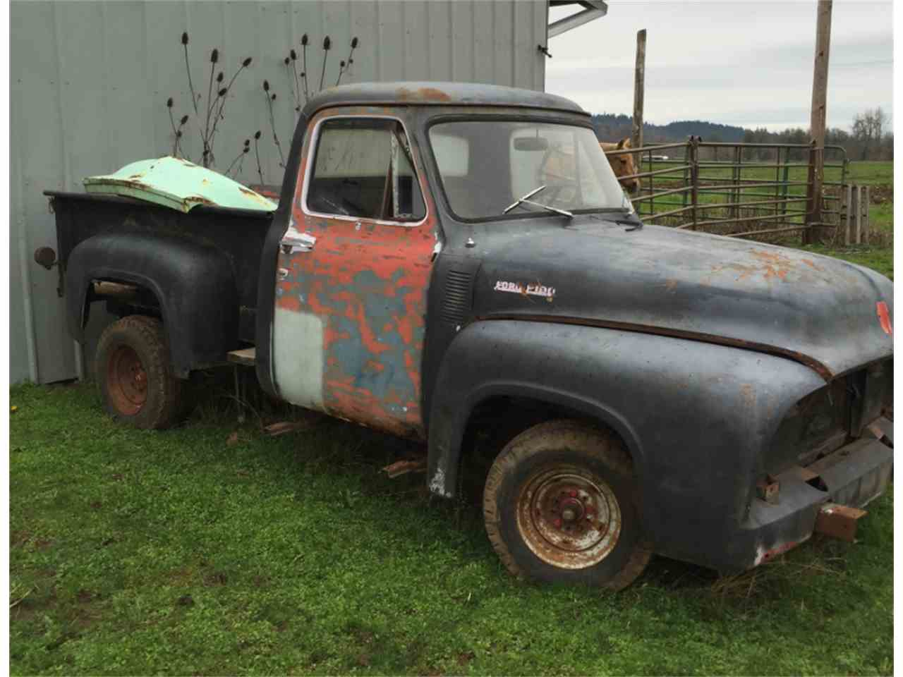 Large Picture of '54 F100 - LSCI