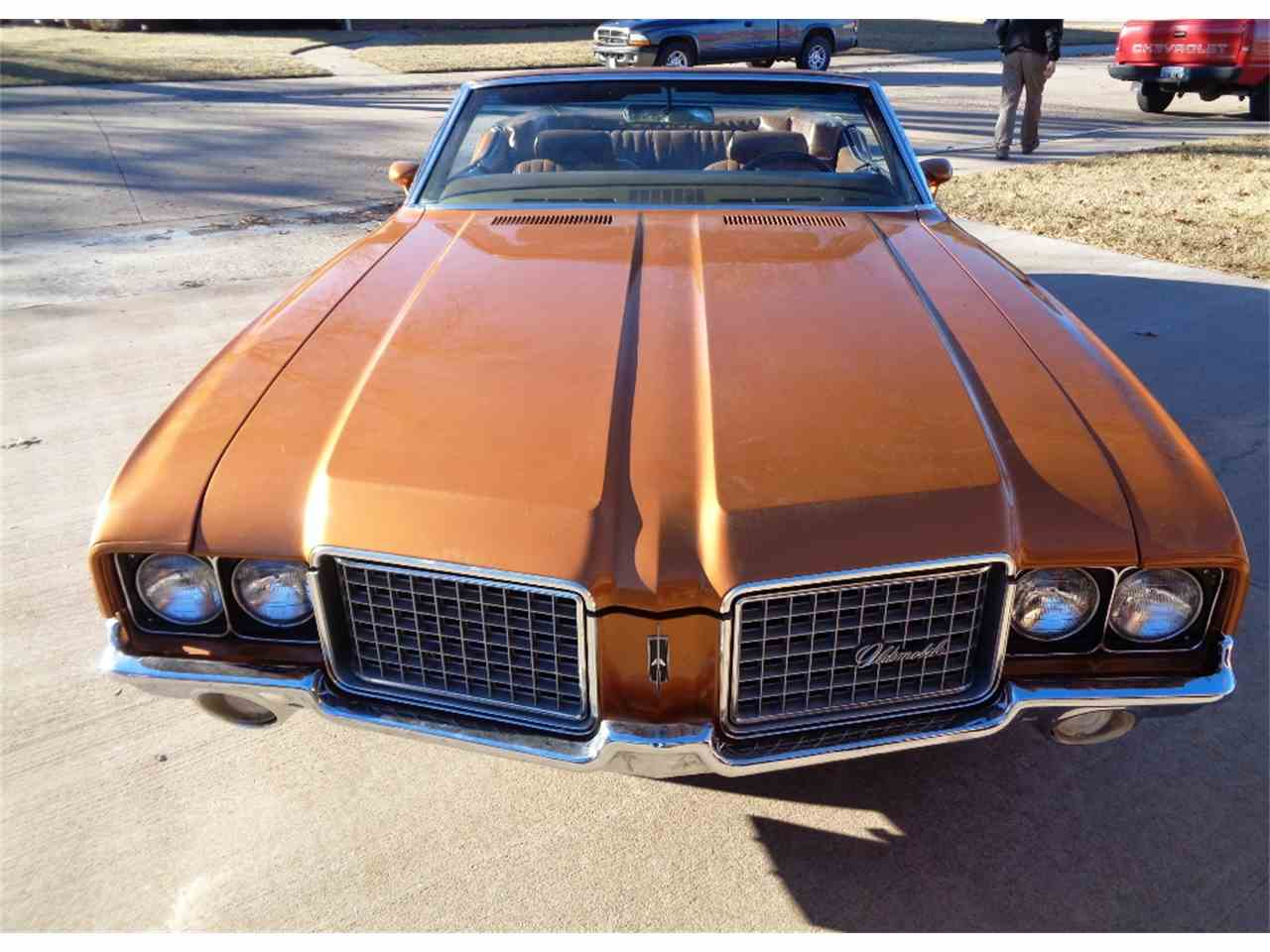 Large Picture of Classic '72 Oldsmobile Cutlass Supreme located in Kansas Auction Vehicle - LSCS