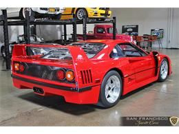 Picture of '90 F40 located in San Carlos California Auction Vehicle - LSEF