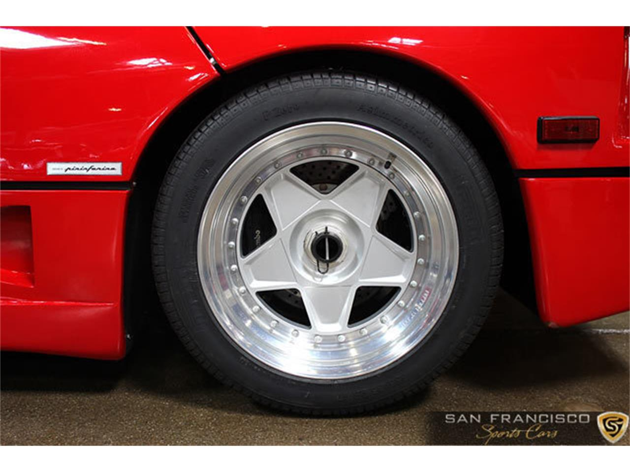 Large Picture of 1990 F40 located in San Carlos California Offered by San Francisco Sports Cars - LSEF