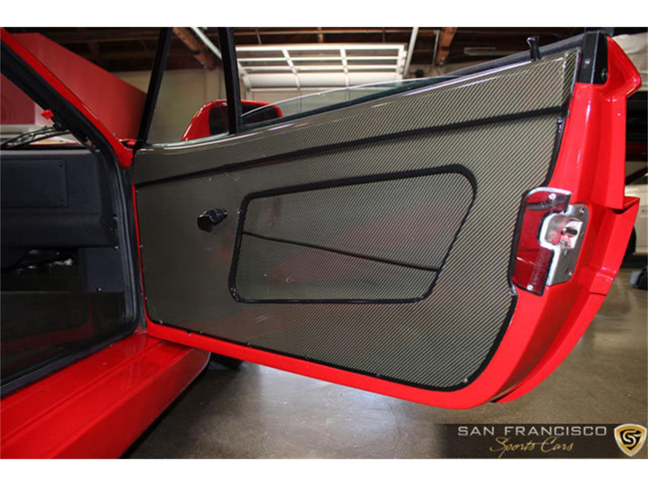 Large Picture of 1990 Ferrari F40 located in San Carlos California Auction Vehicle - LSEF