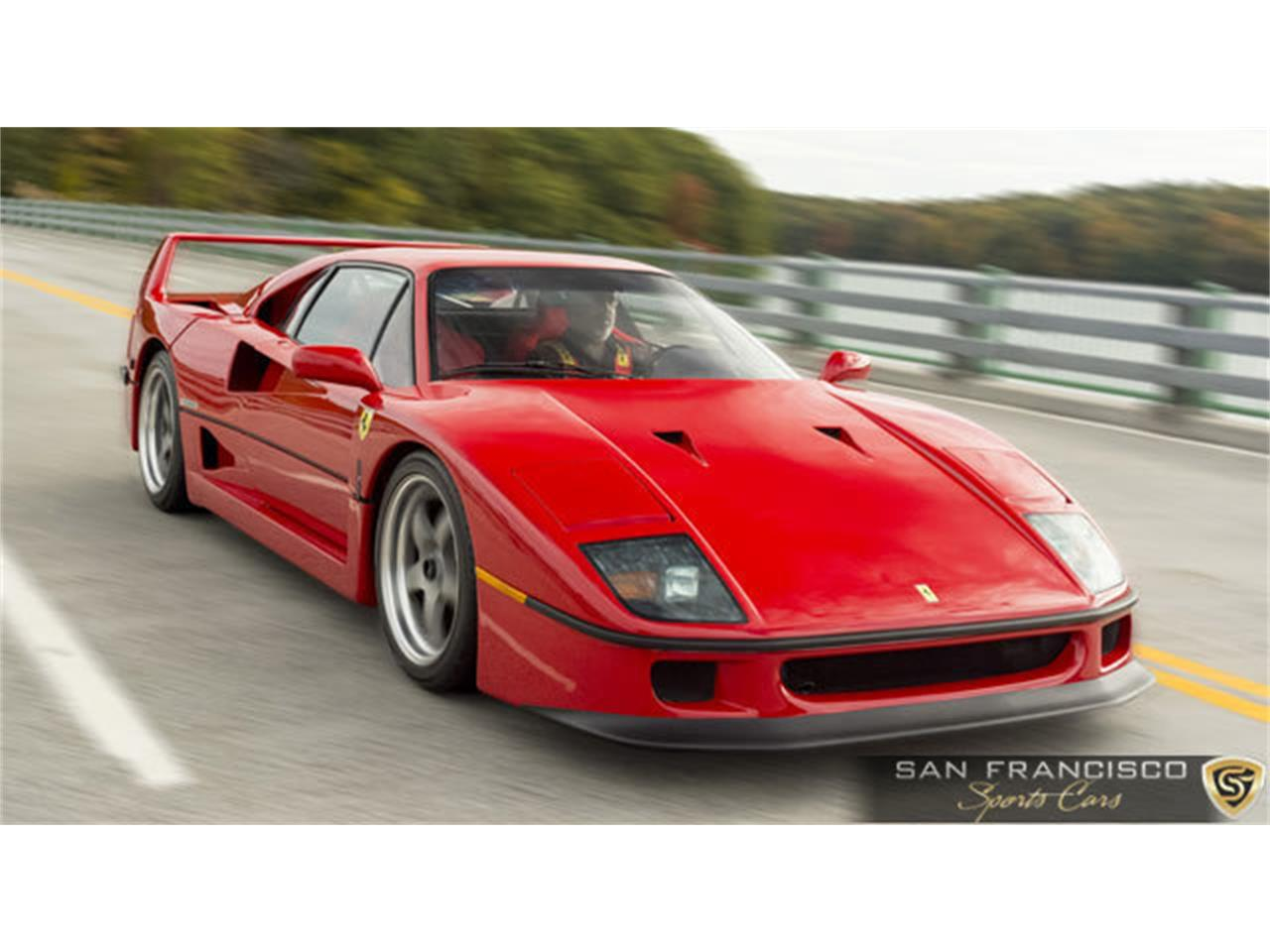 Large Picture of '90 Ferrari F40 located in California Offered by San Francisco Sports Cars - LSEF