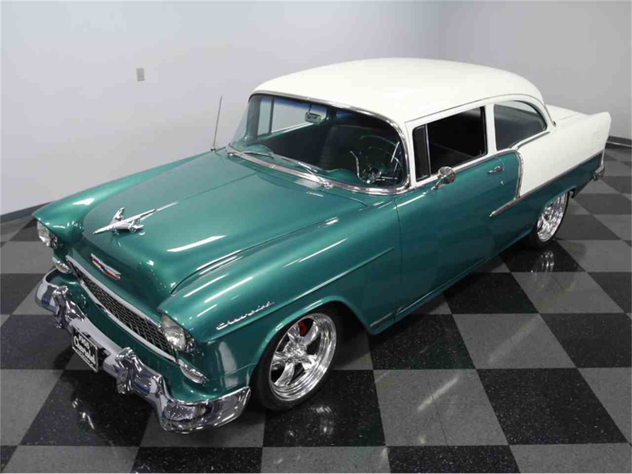 Large Picture of '55 Chevrolet 210 located in Concord North Carolina Offered by Streetside Classics - Charlotte - LSH9