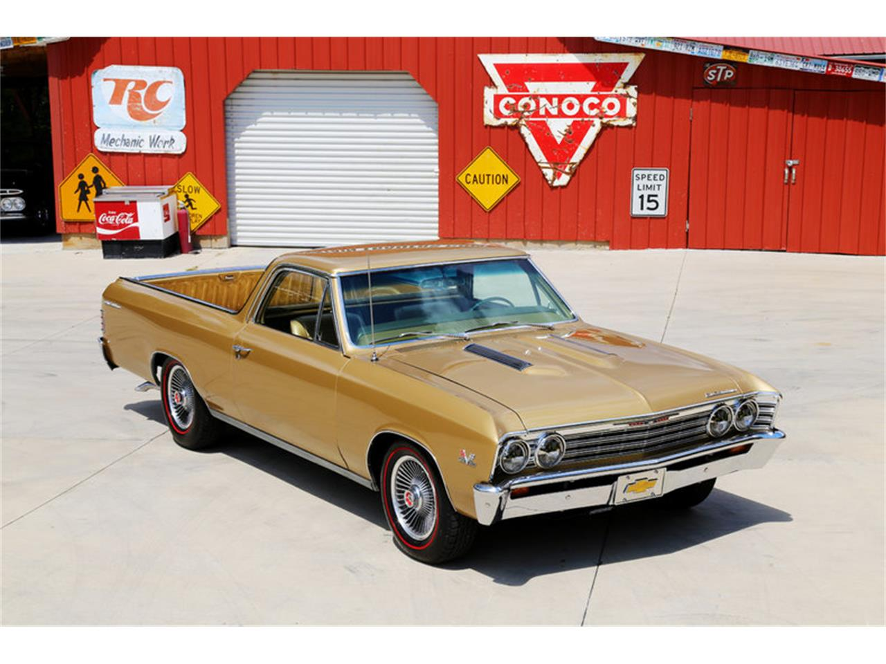 Large Picture of '67 Chevrolet El Camino located in Lenoir City Tennessee - $32,995.00 Offered by Smoky Mountain Traders - LSHE
