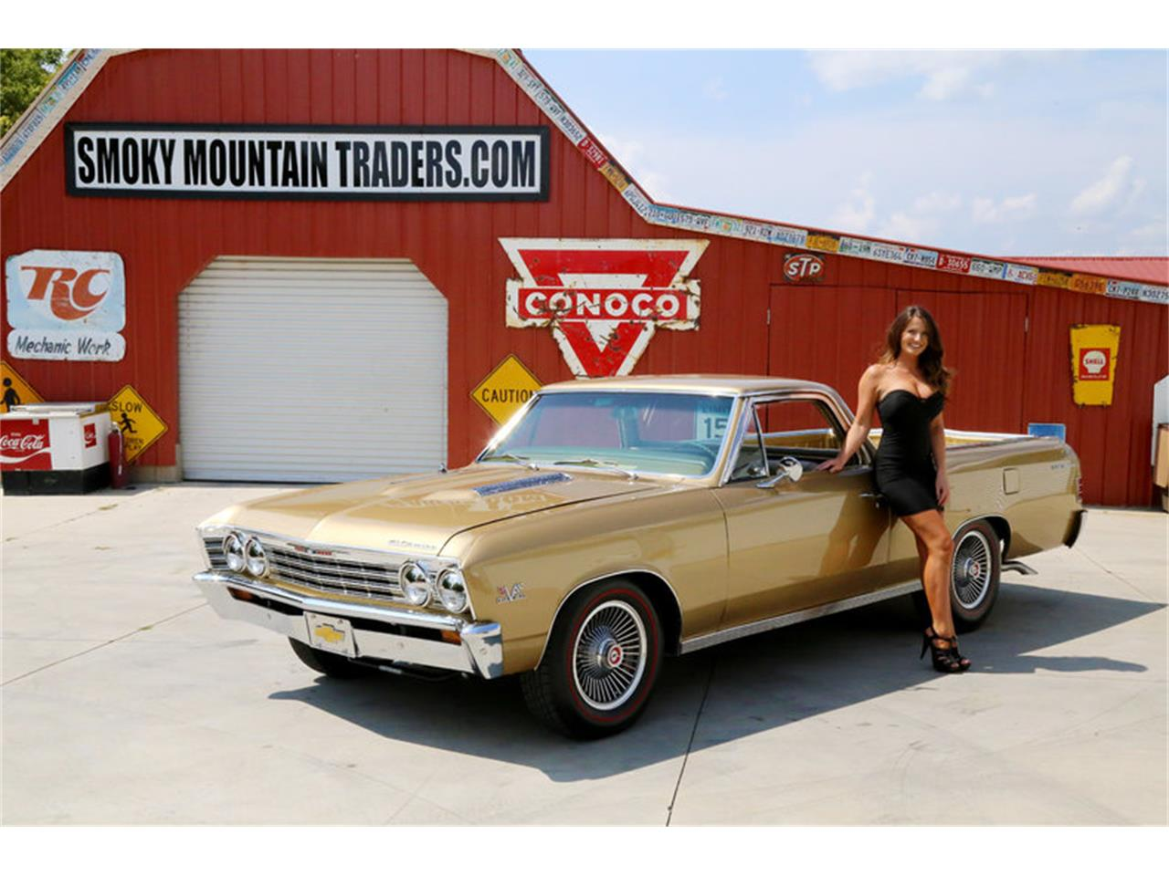 Large Picture of 1967 El Camino located in Tennessee - $32,995.00 Offered by Smoky Mountain Traders - LSHE
