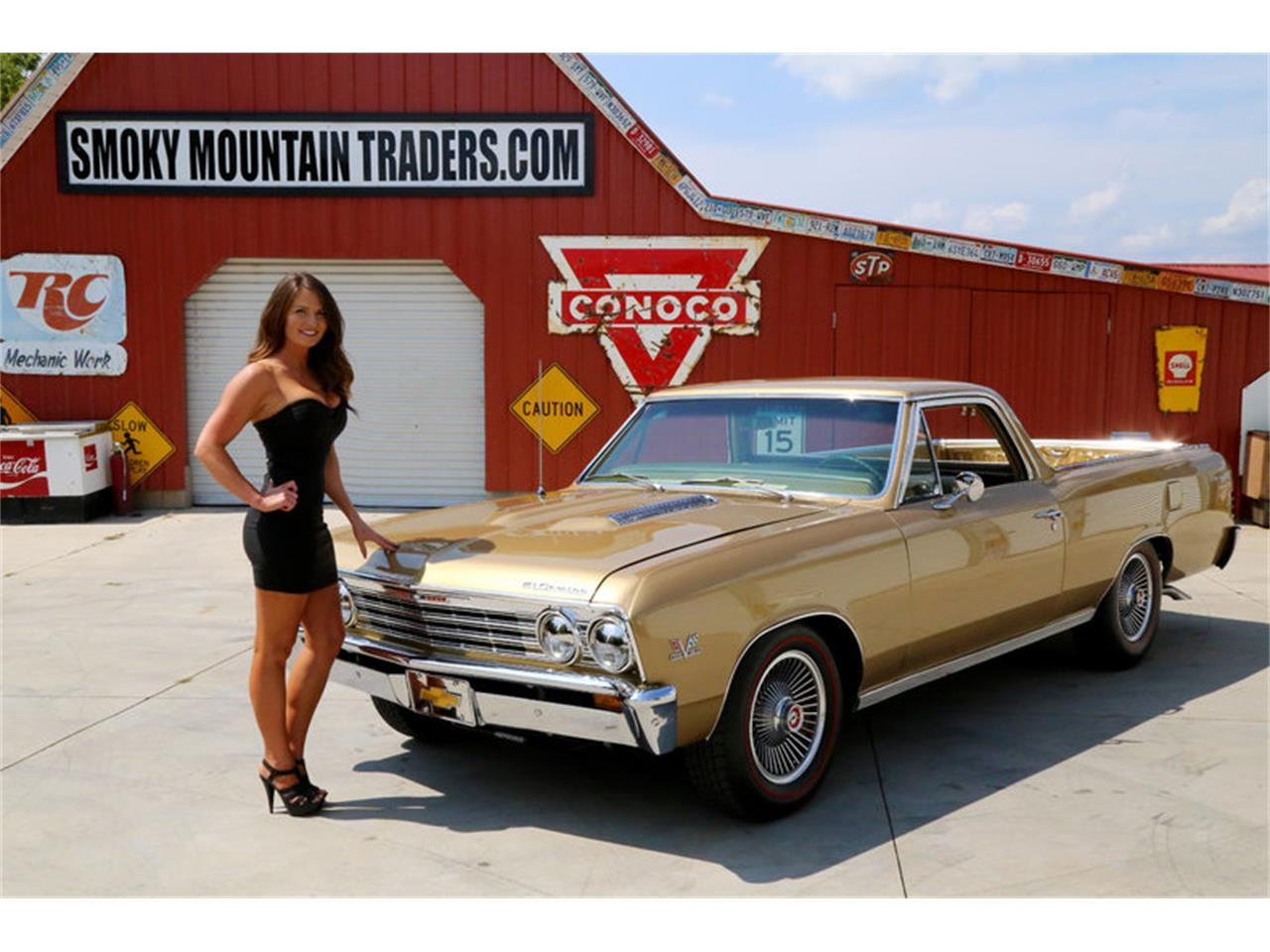 Large Picture of Classic '67 Chevrolet El Camino - $32,995.00 Offered by Smoky Mountain Traders - LSHE