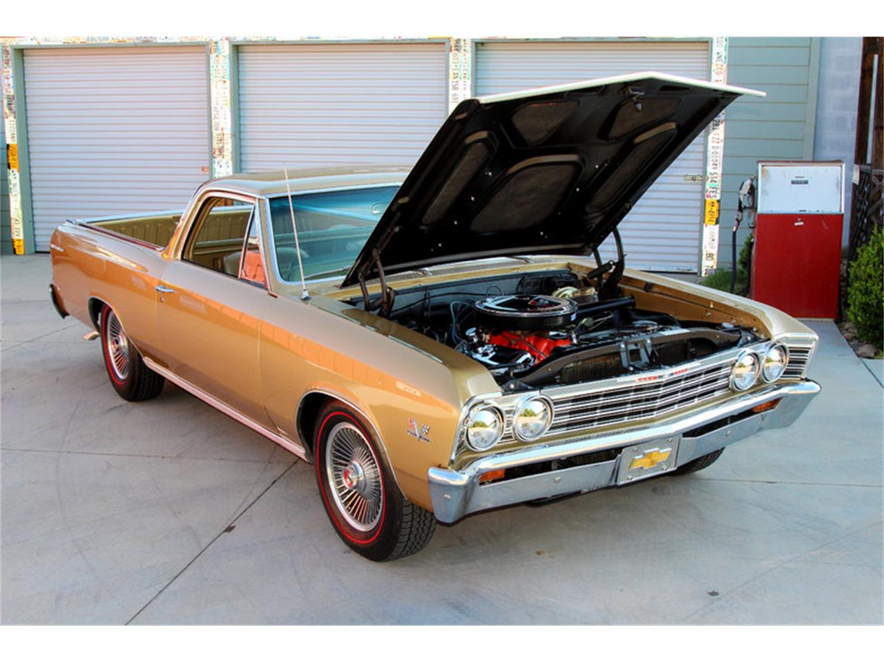 Large Picture of Classic 1967 El Camino located in Tennessee Offered by Smoky Mountain Traders - LSHE