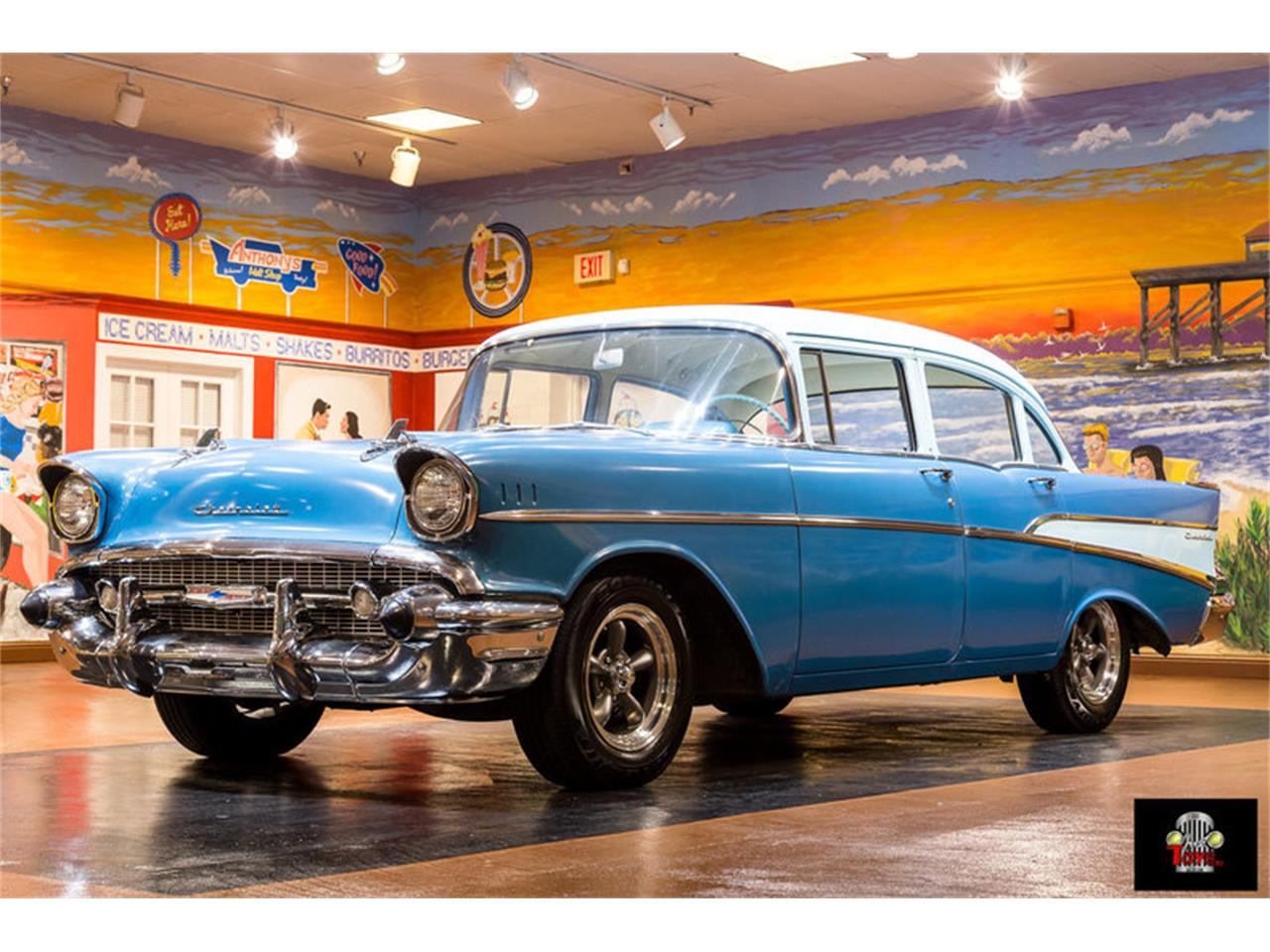 Large Picture of Classic '57 Chevrolet 210 located in Florida Offered by Just Toys Classic Cars - LSNN