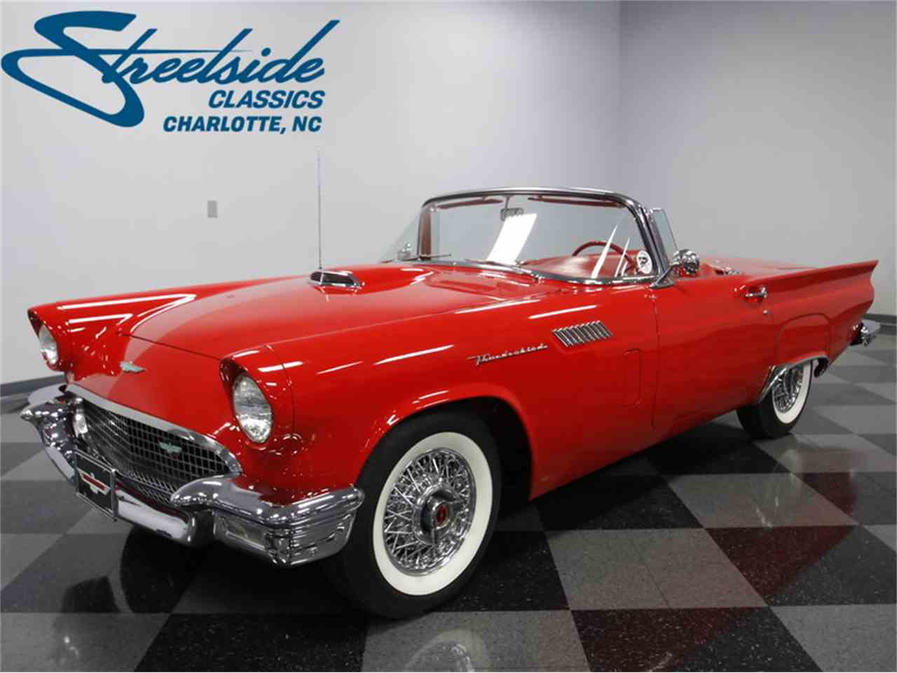 Large Picture of 1957 Thunderbird Offered by Streetside Classics - Charlotte - LSNS
