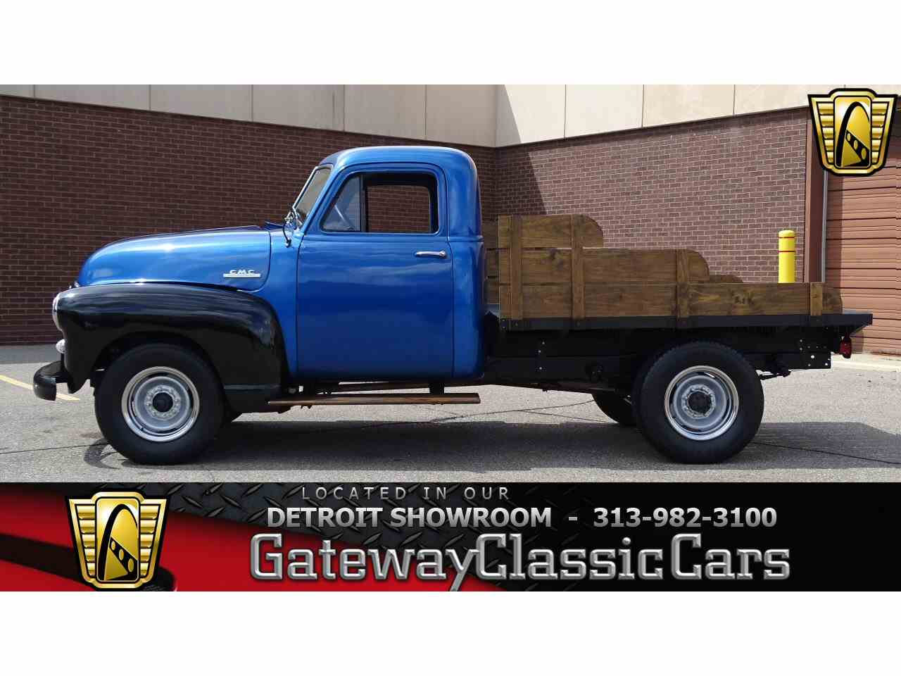 Large Picture of '53 GMC Pickup - $13,595.00 Offered by Gateway Classic Cars - Detroit - LSON