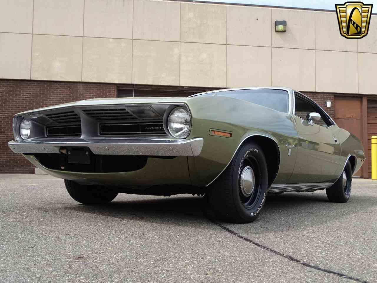 Large Picture of Classic '70 Plymouth Barracuda located in Michigan Offered by Gateway Classic Cars - Detroit - LSOS