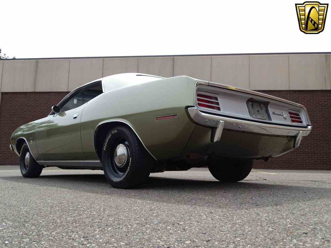 Large Picture of 1970 Plymouth Barracuda - $39,595.00 Offered by Gateway Classic Cars - Detroit - LSOS