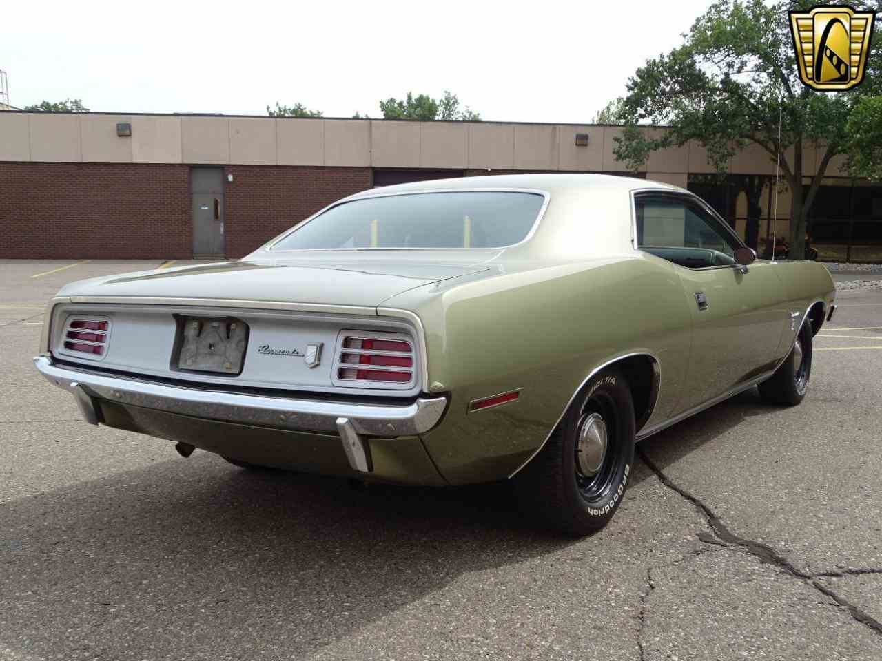 Large Picture of Classic '70 Plymouth Barracuda Offered by Gateway Classic Cars - Detroit - LSOS