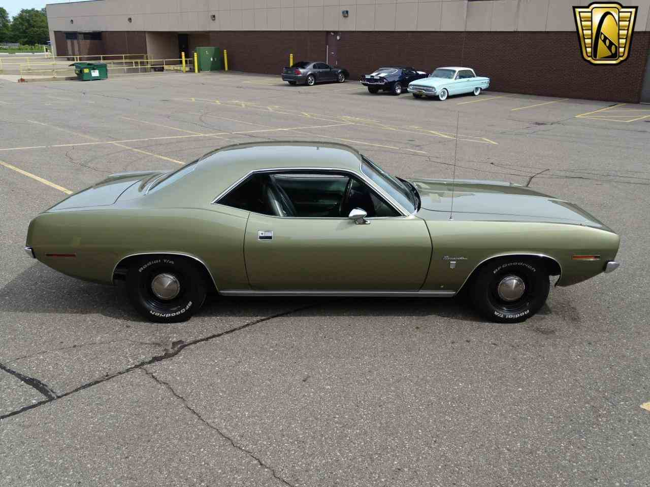 Large Picture of Classic '70 Plymouth Barracuda located in Dearborn Michigan - $39,595.00 Offered by Gateway Classic Cars - Detroit - LSOS