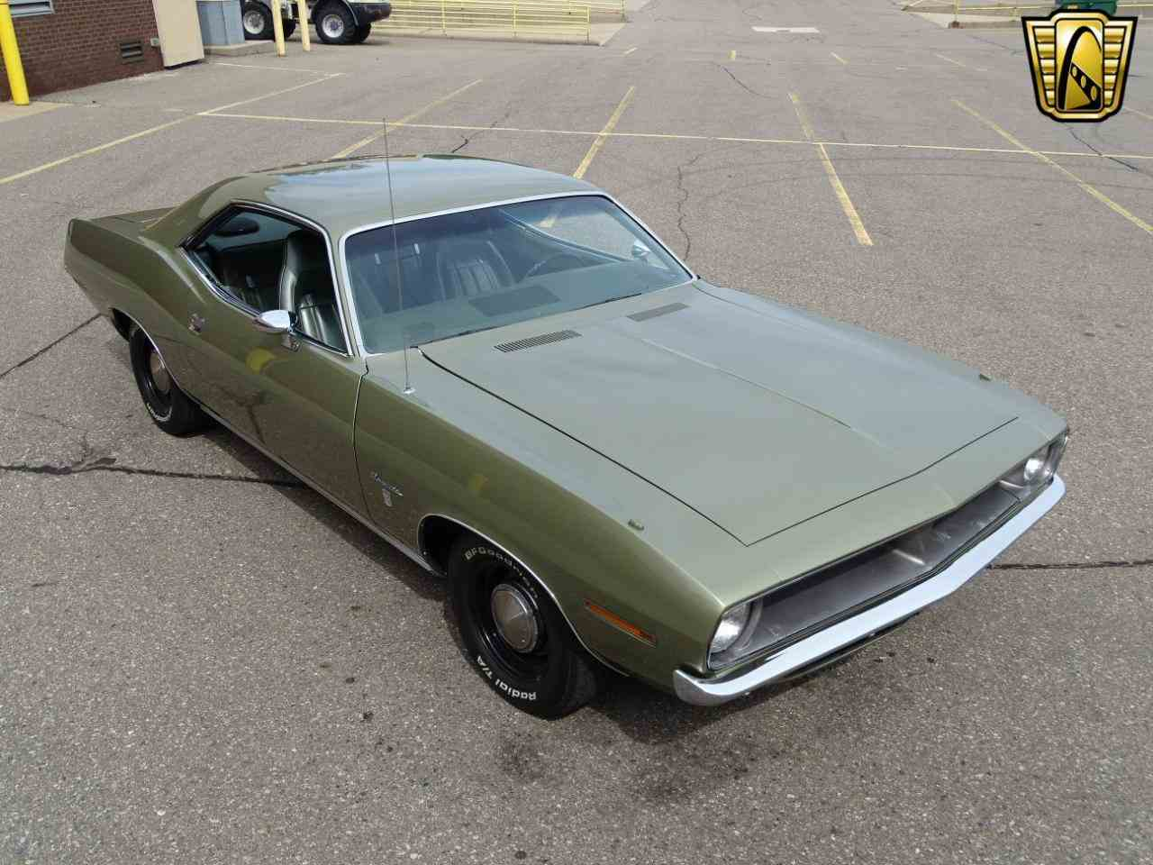 Large Picture of Classic 1970 Plymouth Barracuda located in Dearborn Michigan Offered by Gateway Classic Cars - Detroit - LSOS