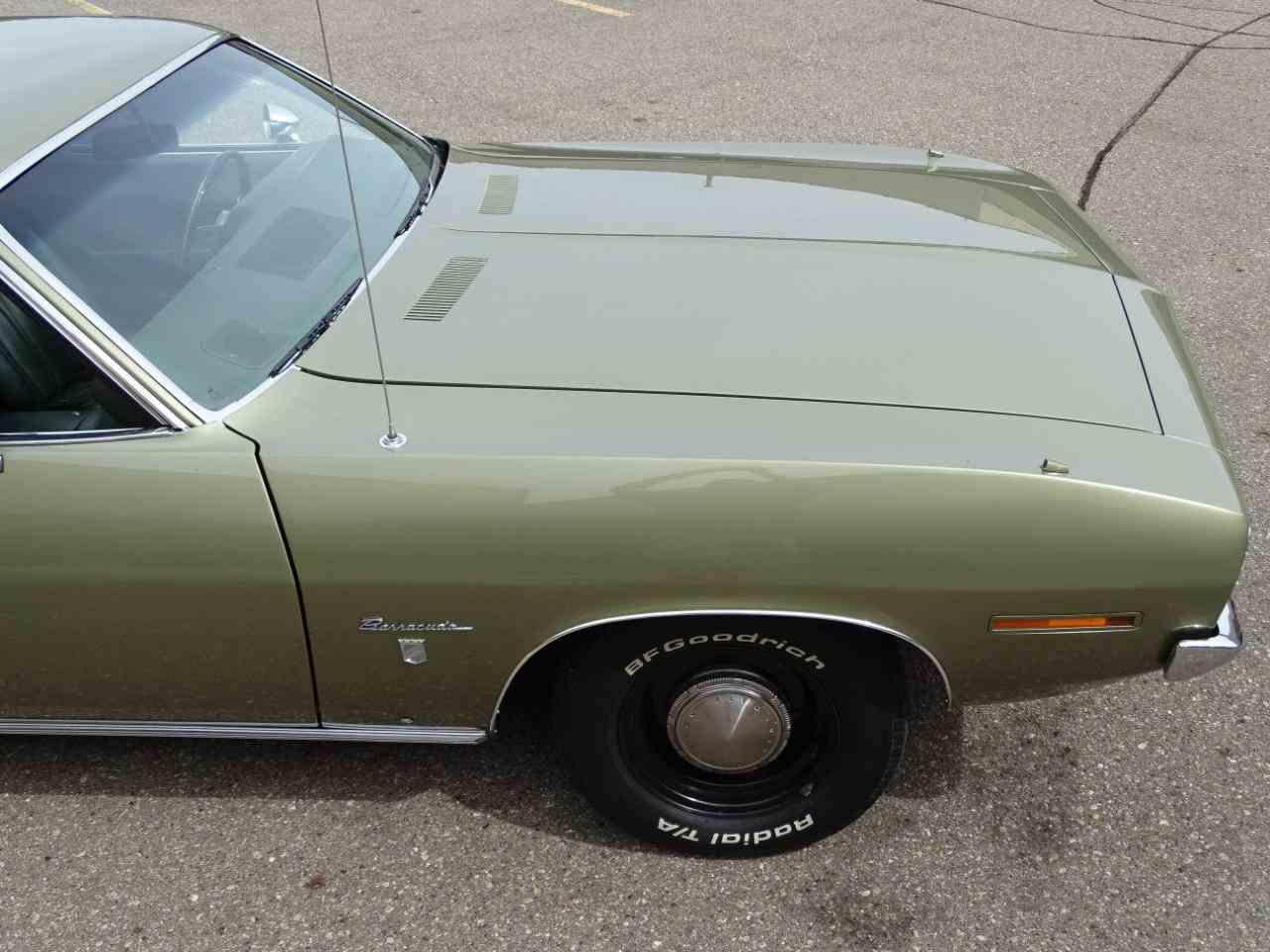 Large Picture of '70 Plymouth Barracuda located in Dearborn Michigan Offered by Gateway Classic Cars - Detroit - LSOS