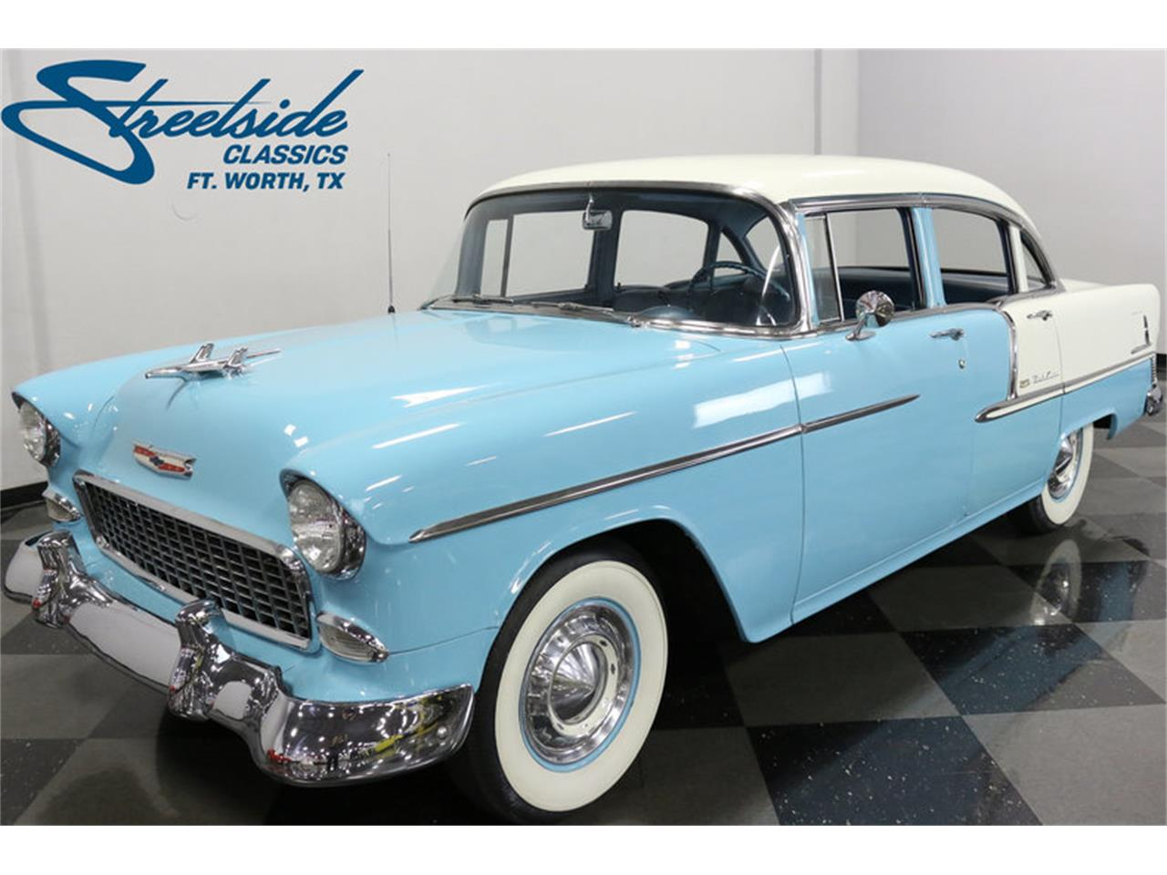 Large Picture of '55 Bel Air - $25,995.00 Offered by Streetside Classics - Dallas / Fort Worth - LSOT