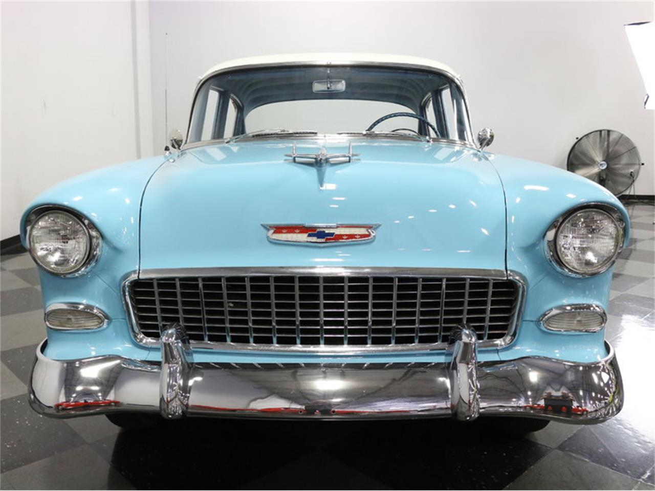 Large Picture of Classic '55 Chevrolet Bel Air Offered by Streetside Classics - Dallas / Fort Worth - LSOT