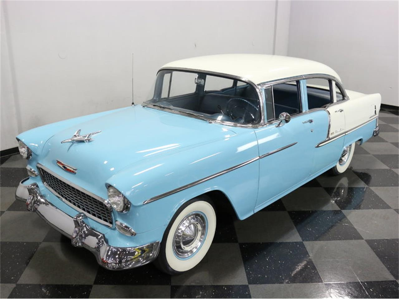 Large Picture of Classic '55 Chevrolet Bel Air located in Texas Offered by Streetside Classics - Dallas / Fort Worth - LSOT