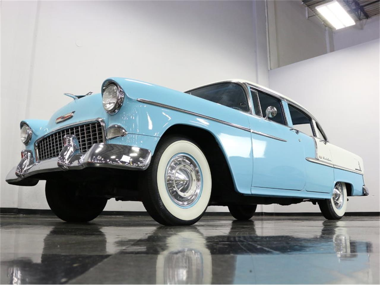 Large Picture of '55 Chevrolet Bel Air - $25,995.00 Offered by Streetside Classics - Dallas / Fort Worth - LSOT