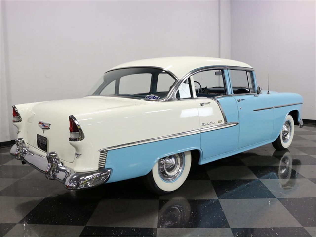 Large Picture of '55 Bel Air Offered by Streetside Classics - Dallas / Fort Worth - LSOT
