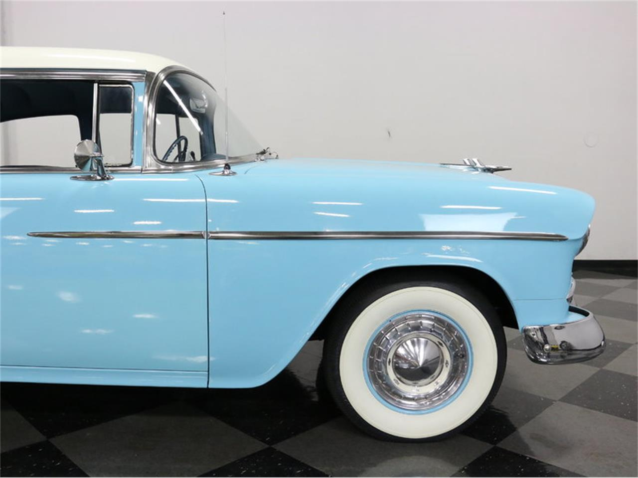 Large Picture of Classic '55 Chevrolet Bel Air located in Ft Worth Texas Offered by Streetside Classics - Dallas / Fort Worth - LSOT