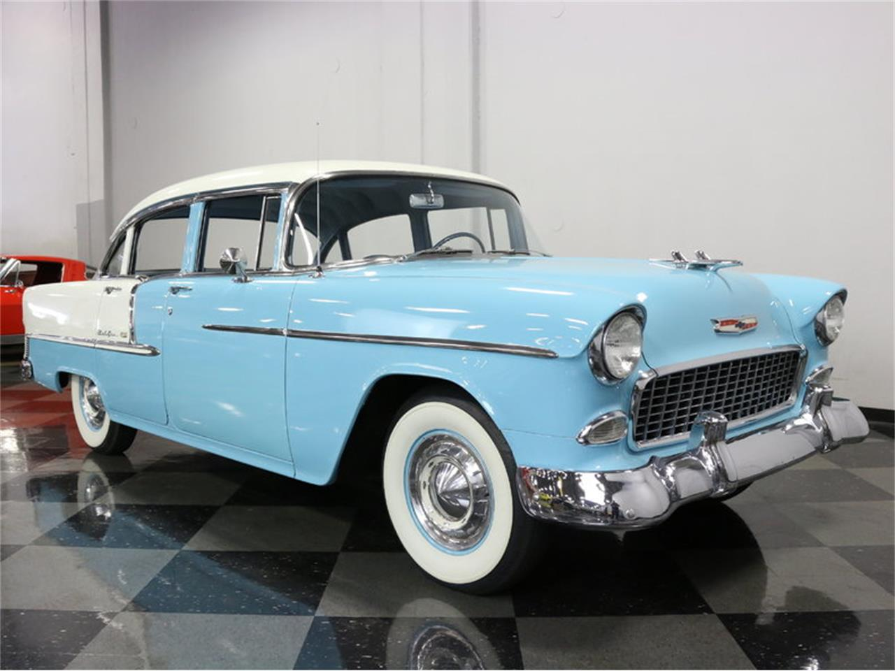 Large Picture of 1955 Bel Air located in Texas Offered by Streetside Classics - Dallas / Fort Worth - LSOT