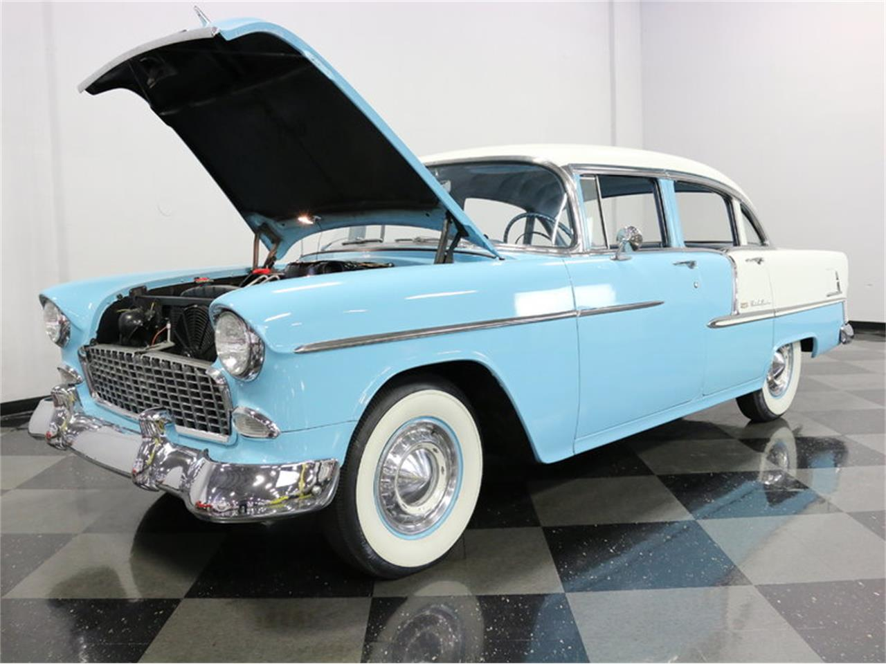 Large Picture of Classic 1955 Bel Air - $25,995.00 Offered by Streetside Classics - Dallas / Fort Worth - LSOT