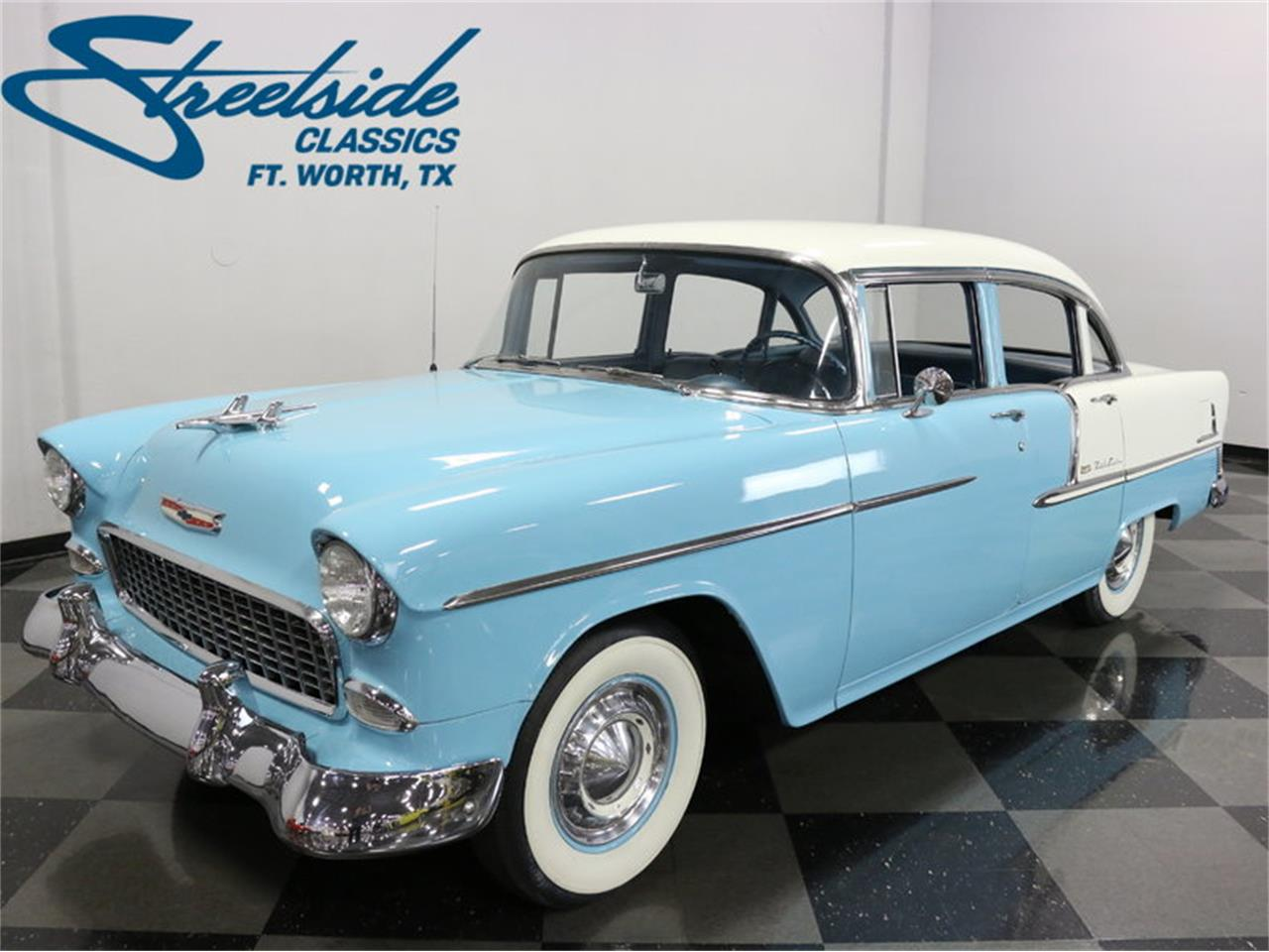 Large Picture of 1955 Chevrolet Bel Air located in Ft Worth Texas - $25,995.00 Offered by Streetside Classics - Dallas / Fort Worth - LSOT