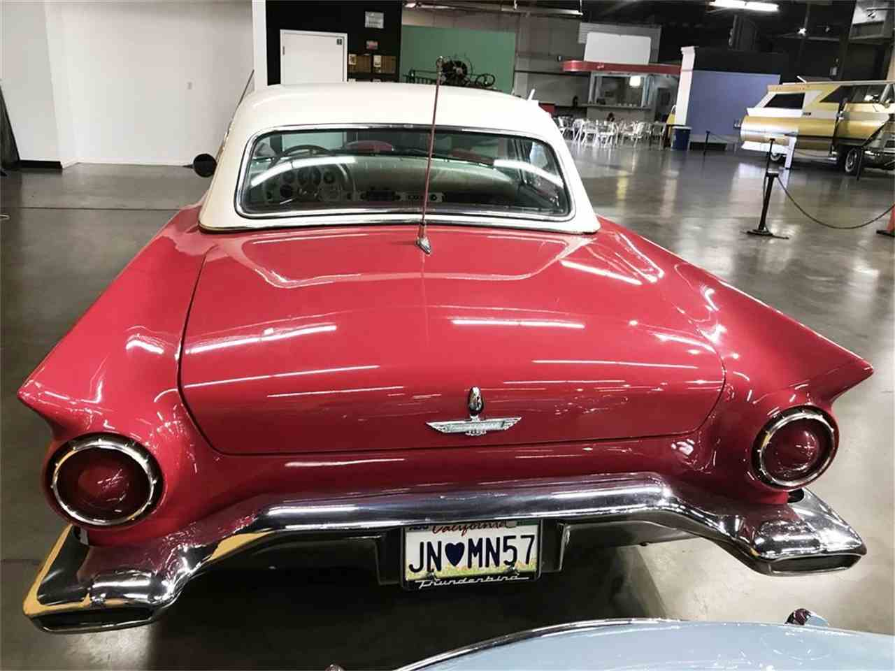 Large Picture of Classic 1957 Thunderbird located in Sacramento California - $22,500.00 Offered by California Automobile Museum - LSUQ