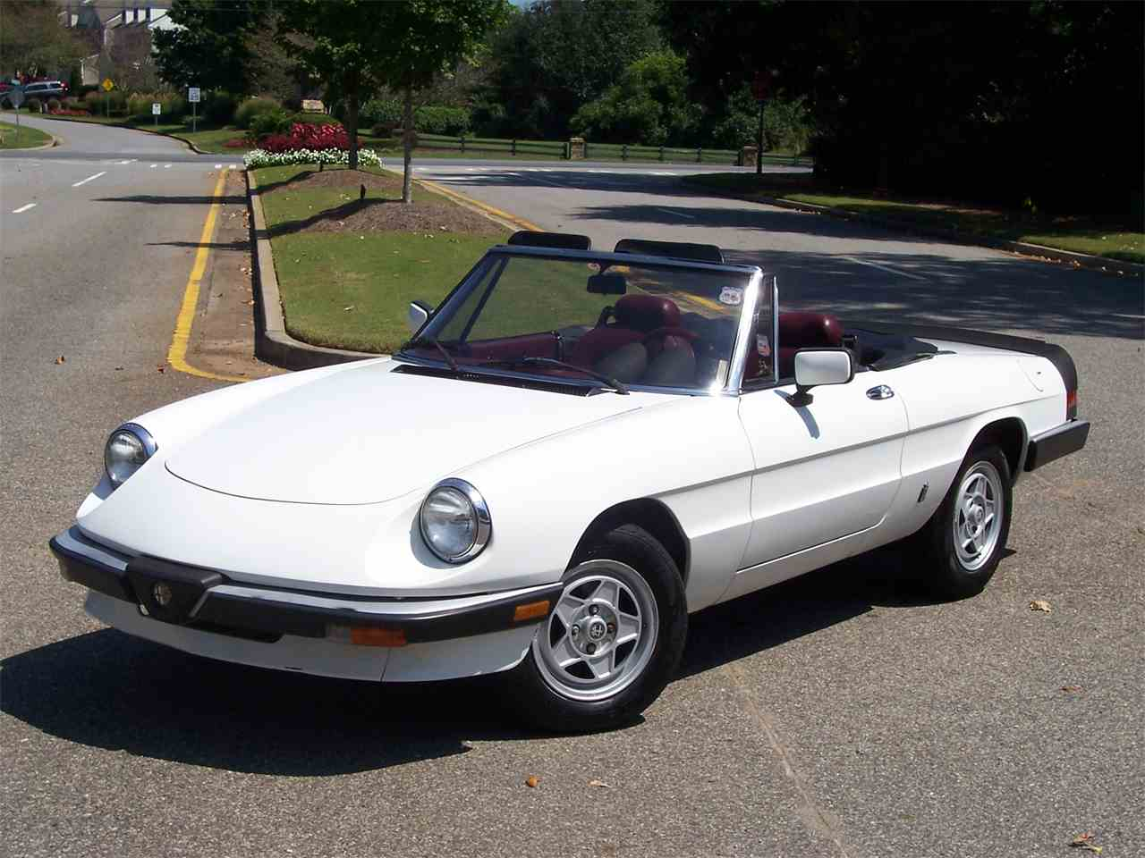 Cars For Sale Newnan Ga 2000: 1985 Alfa Romeo 2000 Spider Veloce For Sale