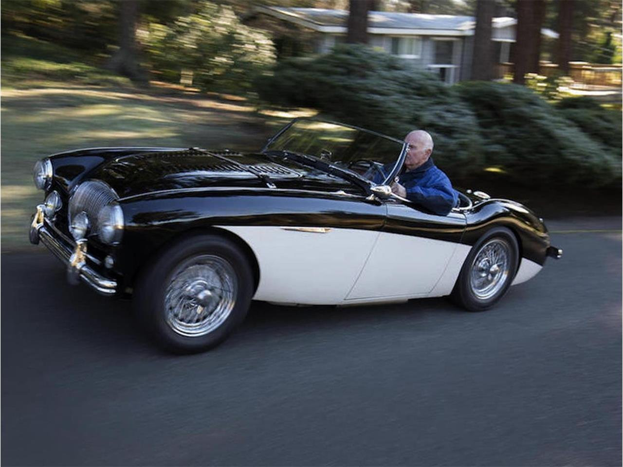 Large Picture of Classic 1955 Austin-Healey 100-4 located in Minnesota Offered by Jaguar Land Rover Minneapolis - LT01