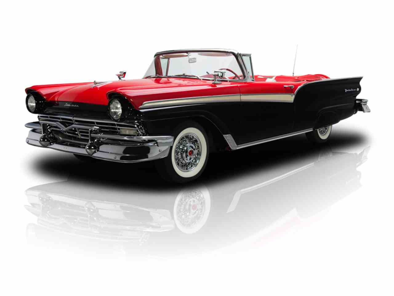 Large Picture of '57 Ford Fairlane 500 - $94,900.00 Offered by RK Motors Charlotte - LT6X