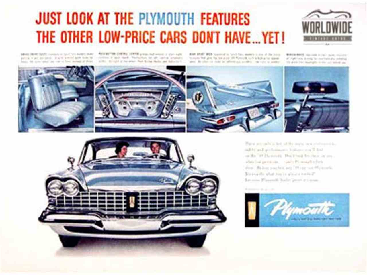 1959 Plymouth Fury for Sale | ClassicCars.com | CC-1017666