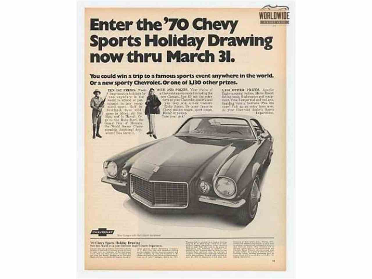 Large Picture of Classic '70 Chevrolet Camaro - LT98