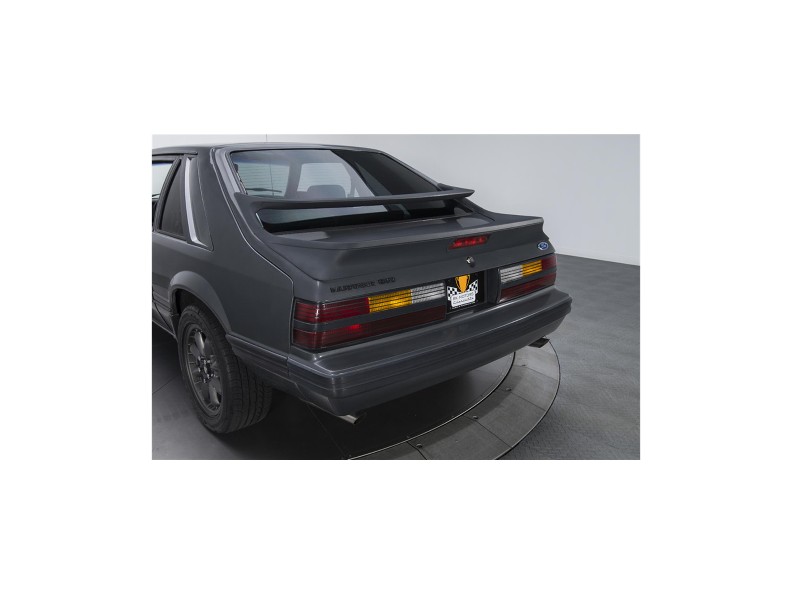 Large Picture of '86 Mustang SVO - LTA3